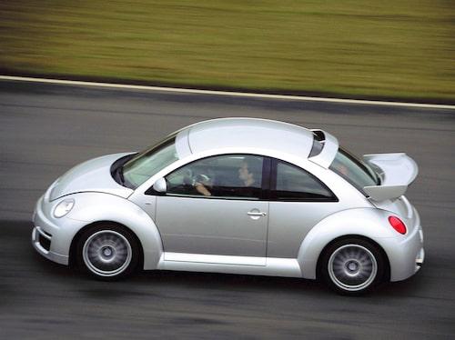 Bara 250 exemplar byggdes av den fyrhjuldrivna 100-hästaren RSi.