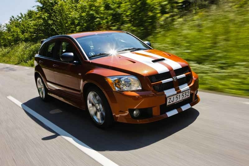 Provkörning av Dodge Caliber SRT4