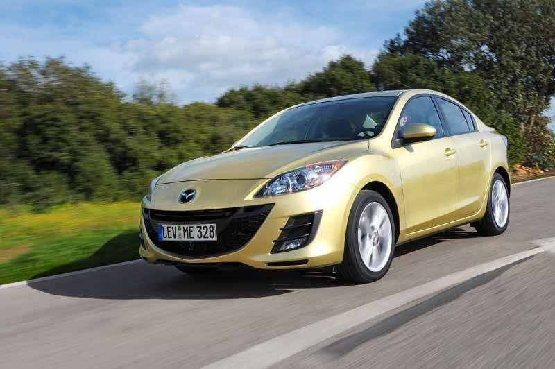 Provkörning av Mazda 3 1,6