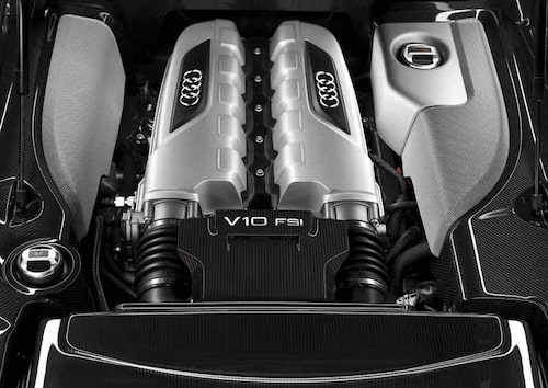 Ett av motorvärldens absolut snyggaste motorrum just nu. Skönhet och kraft!