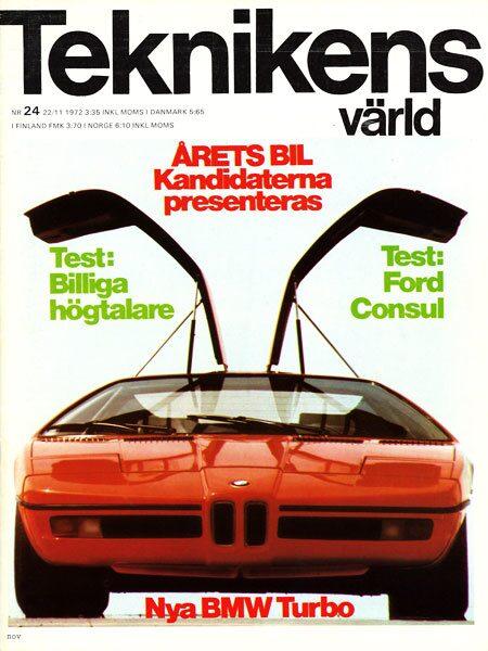 Teknikens Värld nummer 24 / 1972