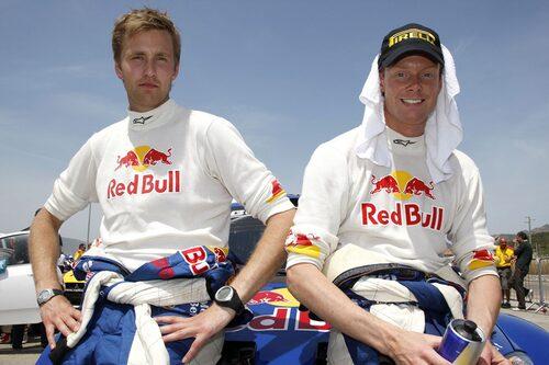 PWRC. Patrik Sandell och Emil Axelsson.