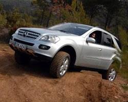 Provkörning Mercedes ML 350