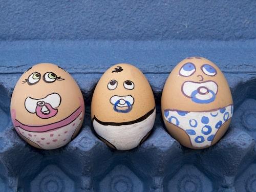 Säg det med ett ägg till påsk.