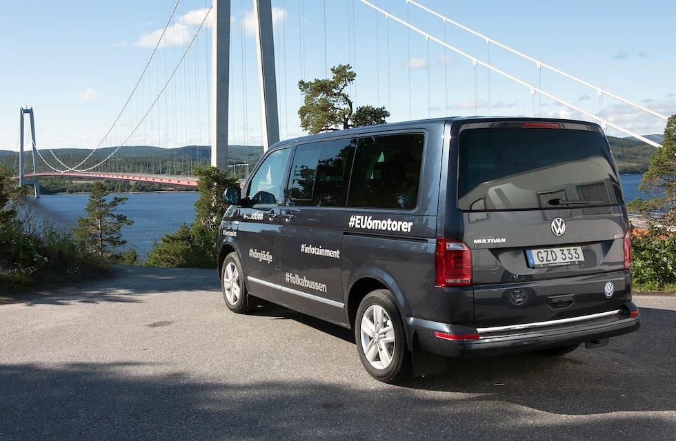 Provkörningsbilen är i Generation Six-utförande.