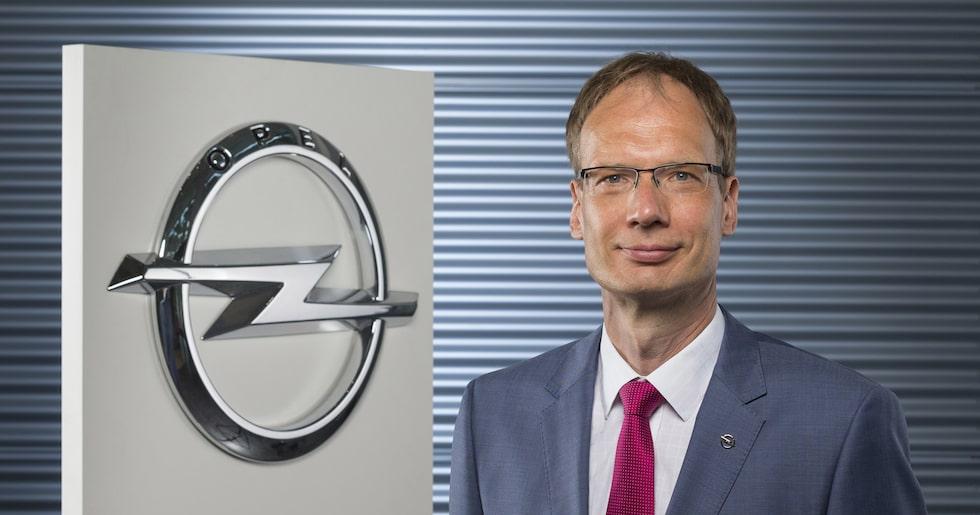 Michael Lohscheller, ny vd för Opel.