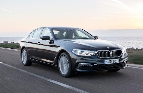 Det är främst BMW 5-serie som bryter Volkswagen och Volkswagens dominans i toppen.