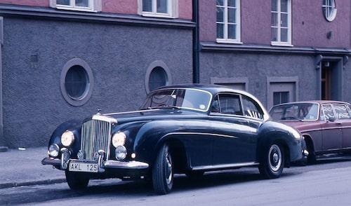 "Gunnar var stolt över sin Bentley R-type Continental 4,9 ""by Mulliner"" (ex Bernadotte)."