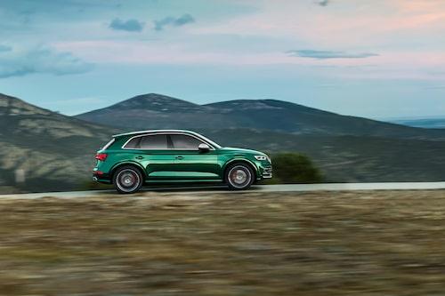 Eftersom det handlar om en S-modell från Audi är det drivning på alla fyra som gäller. quattro med andra ord.