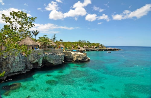 Rockhouse i Negril på Jamaicas västkust.