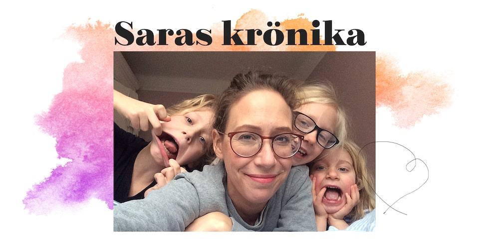 Sara Tuncel är chefredaktör för Vi Föräldrar och mamma till Eskil, 13, Elsie, 10 och Julie, 7.