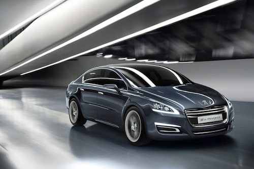 Konceptbilen 5 by Peugeot