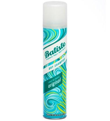 Godkänt torrschampo för balsammetoden.