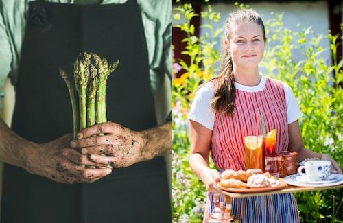Plocka din egen sparris eller andra färska grönsaker. I Skåne finns gott om gårdsbutiker och små restauranger med närodlat på menyn. På det anrika kaféet Flickorna Lundgren kan du njuta av vaniljhjärtan, som även var Gustav VI Adolfs favoriter.