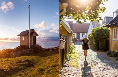 Till Torekov åker man för bad, byliv och semester. Båstad, Mölle, Arild och Domsten är andra populära sommartillhåll.