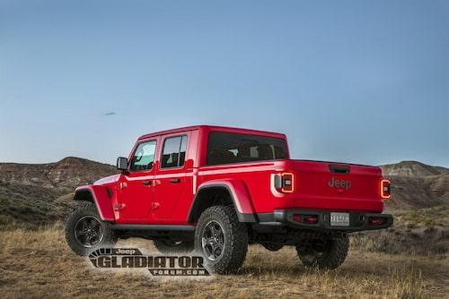 Ett tag sedan man såg en Jeep med denna typ av bakdel.