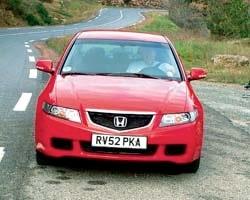 Provkörning av Honda Accord