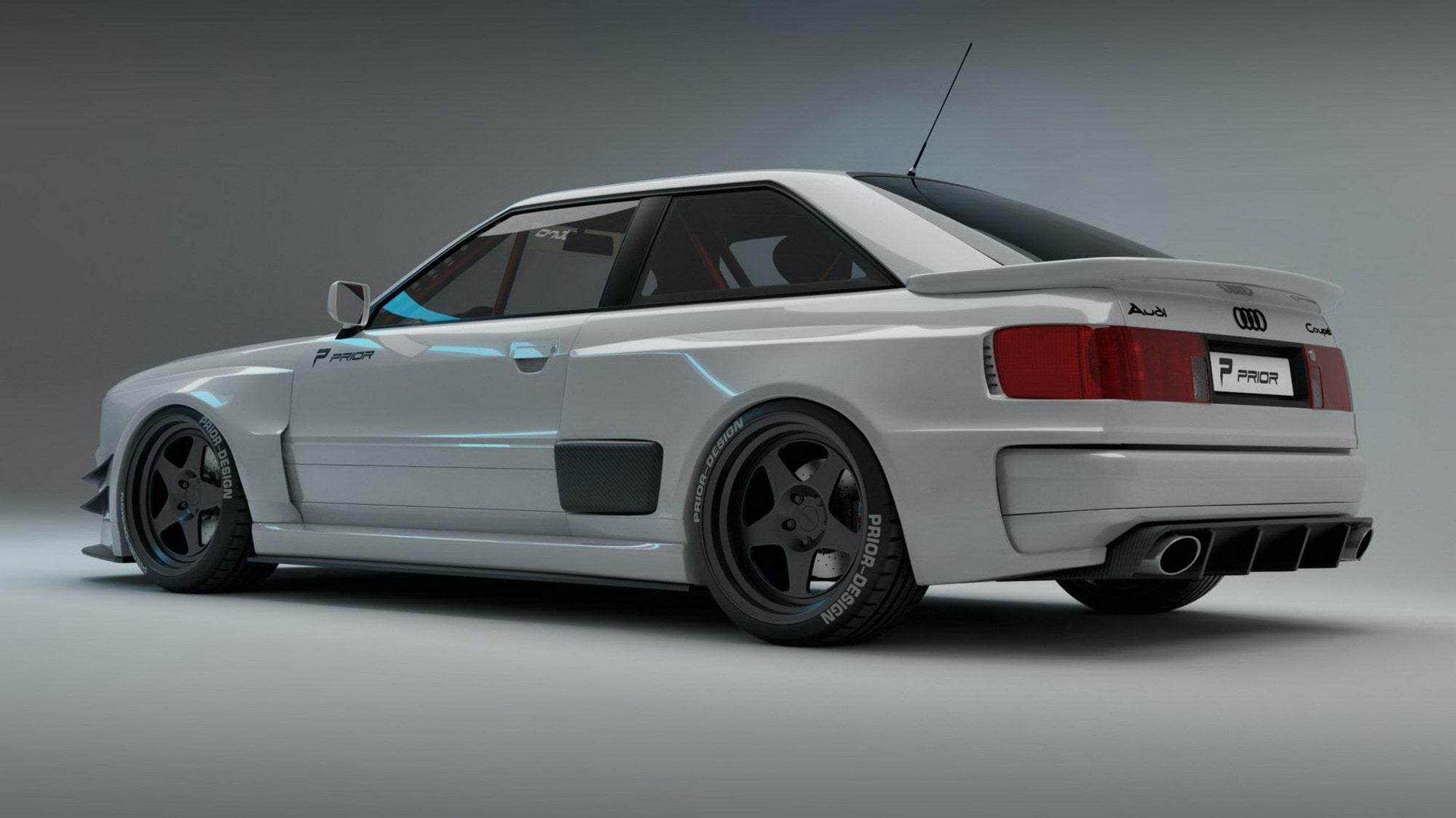 Nytt bodykit till Audi Coupé | Teknikens Värld