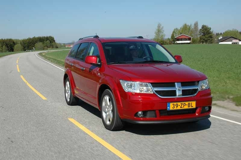 Provkörning av Dodge Journey 2,0 CRD