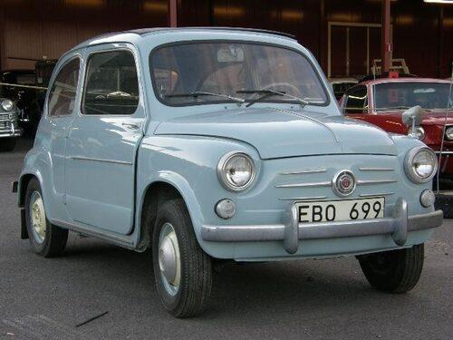 Fiat 600 Convertible 1958