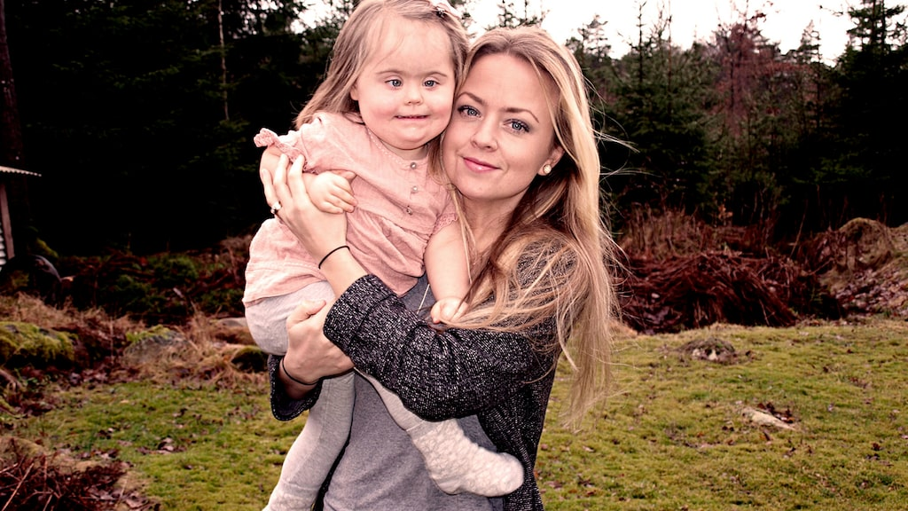 Hanna och dottern Florence.