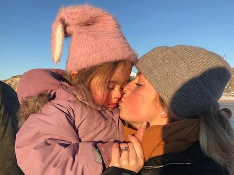 """""""Om det är något min dotter har lärt mig så är det att leva i nuet."""""""