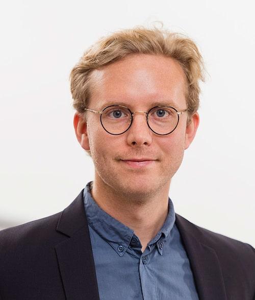Erik Gustafsson, informationschef på Toyota Sverige.
