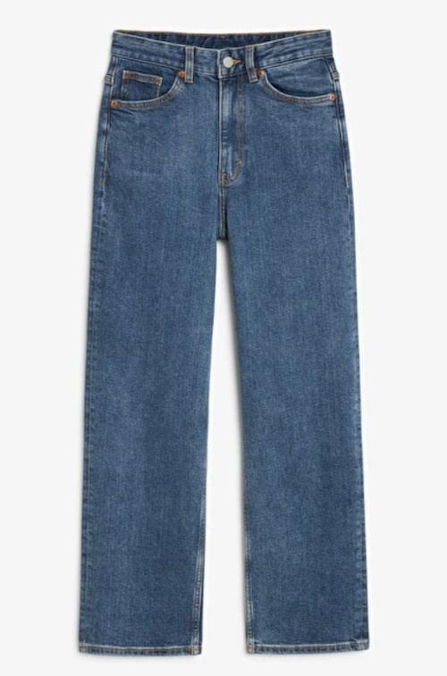 Raka jeans från Monki.