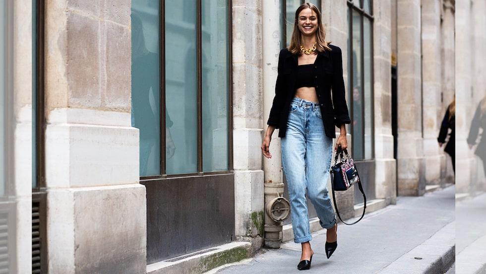 Jeans 2021 –hitta din favoritmodell bland vårens hetaste trender.