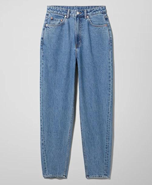 Meg high mom jeans från Weekday.