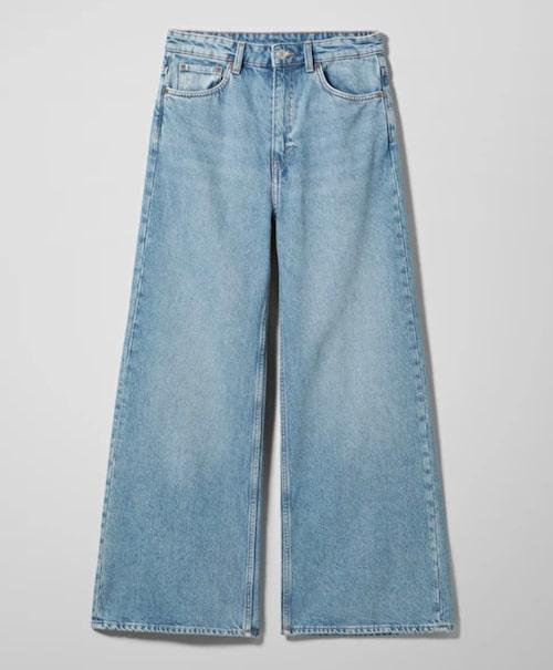 Vida jeans från Weekday, Ace heter modellen.