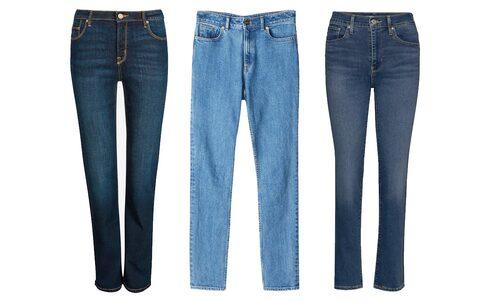 Raka jeans hör hemma i basgarderoben.