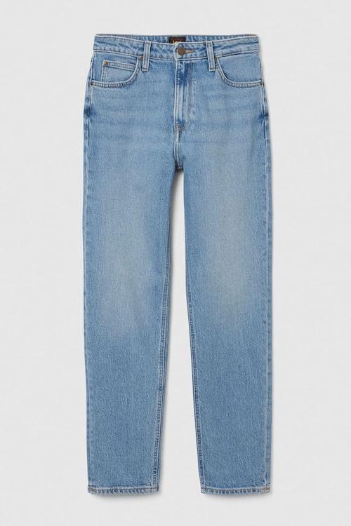 Raka jeans med hög midja från Lee.