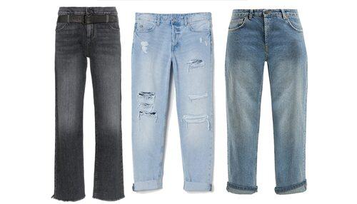 Boyfriend jeans är baggy (lösa) i modellen och får gärna ha snygga slitningar.