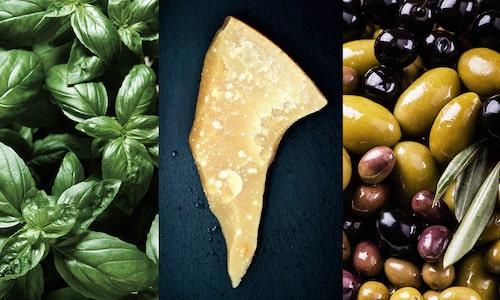 Ost och oliver – kan inte bli fel! Åtminstone inte för de vuxna.