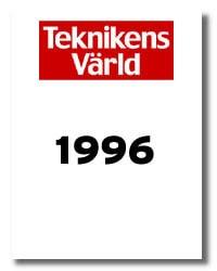 Teknikens Värld nummer 07 / 1996
