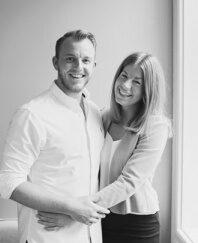 För Pia-Maria och Lars Christian var det viktigt att lägenhet skulle spegla deras personligheter.