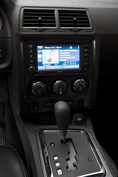 Navigator och luftkonditionering är standardutrustning.