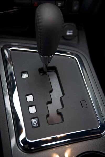 Femte steget är en ren överväxel. Spar bränsle.