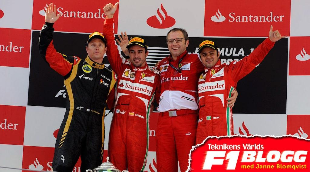 Ferraris Stefano Domenicali sparkad