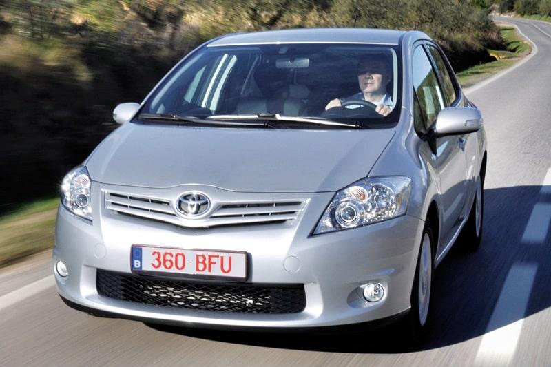 Provkörning av Toyota Auris 1,33