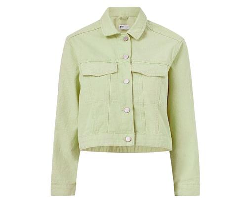 Mintgrön jeansjacka från Gina Tricot.