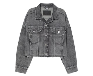 Oversized jeansjacka Gul DAM | H&M SE