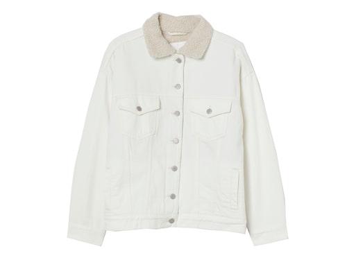 Jeansjacka med fodrad krage, från H&M.