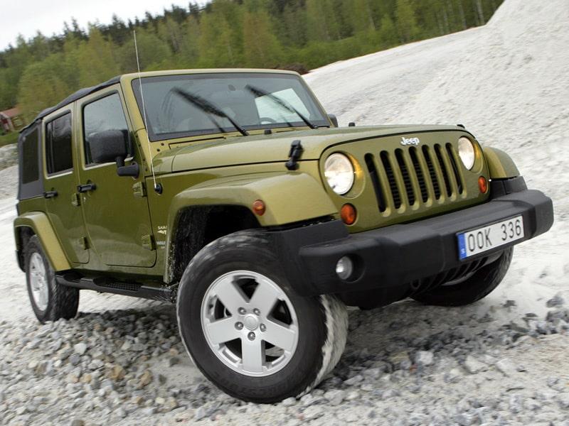 Provkörning av Jeep Wrangler 2,8 CRD Sahara Unlimited