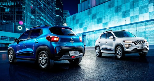 Renault CITY K-ZE lanseras först i Kina.