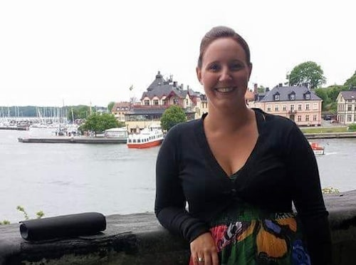 Johanna Jedborgs andra barn var väldigt planerat. Foto: Privat