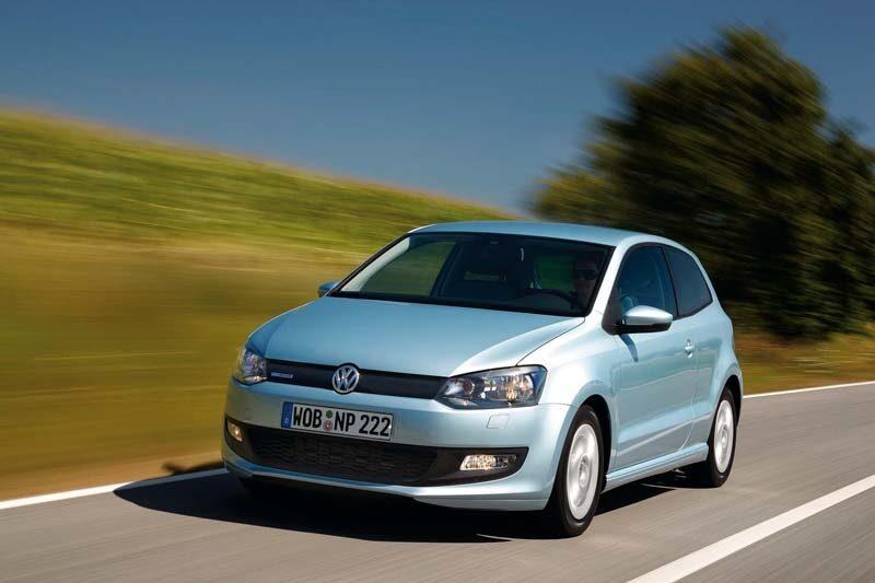 Provkörning av Volkswagen Polo Bluemotion.