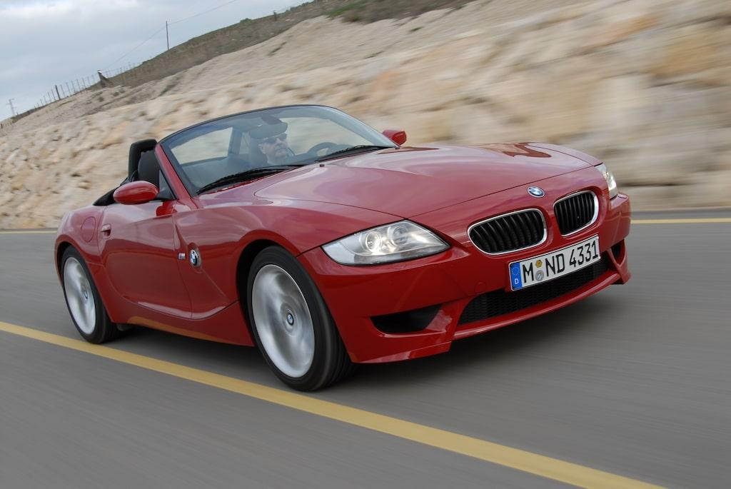 Provkörning av BMW Z4 M Roadster