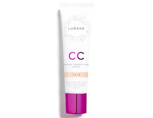 Recension på CC color correcting cream spf 20, Lumene. Klicka på bilden och kom direkt till produkten.